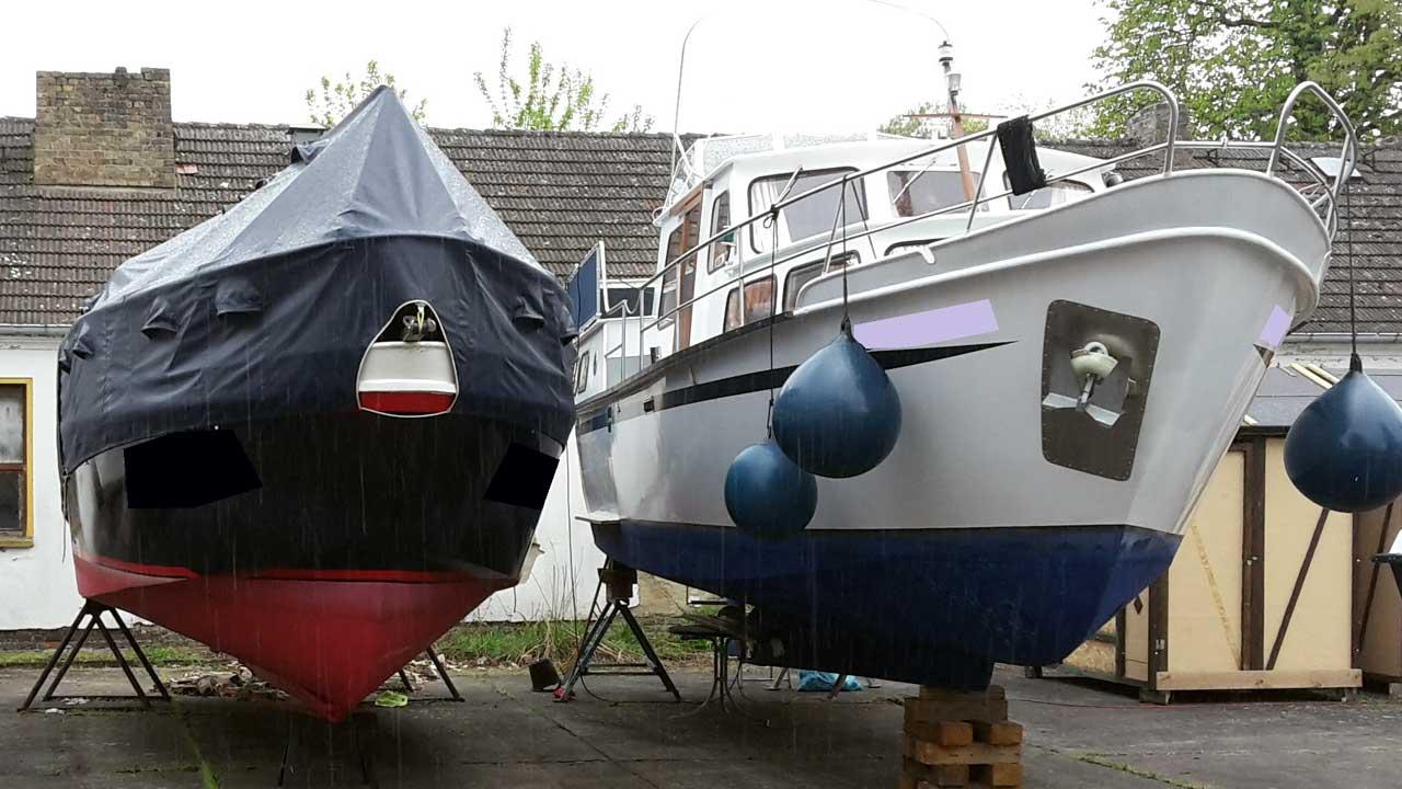 Bootsbau bei Jacko - Boote reparieren und umbauen in der Bootsmeisterei