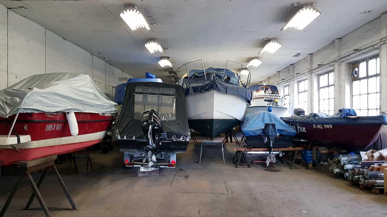 Günstige Bootswinterlager zum Schutz von Booten und Yachten bei Jacko