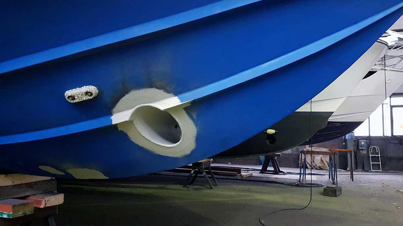 Schiffbau bei Jacko Werft - Bau und Reparatur von Schiffen und Schiffsteilen