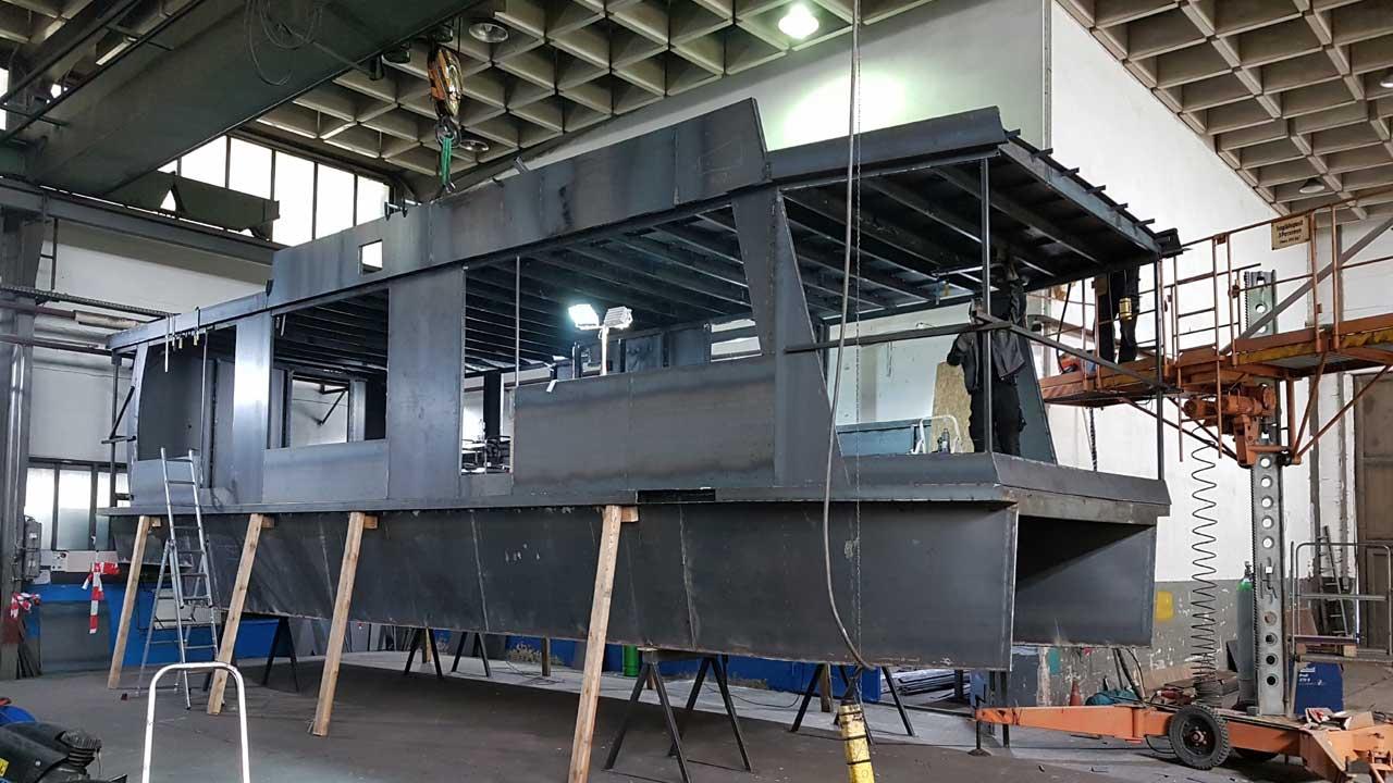 Werkstoff Schiffbaustahl - Stahl Schiffbau bei Jacko