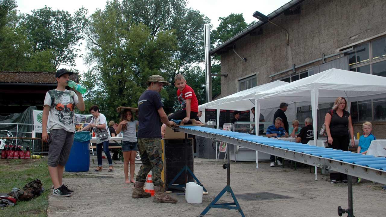 Marktplatz Aktivitäten - Wassersportfest Philadelphia