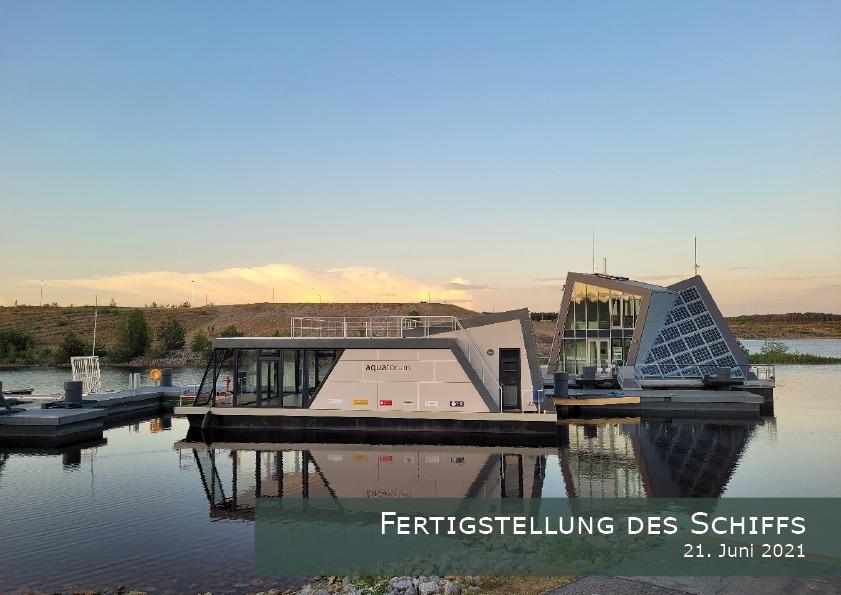 """Solarbetriebenes Konferenzschiff """"Aquaforum"""" - Fertigstellung des Schiffs"""